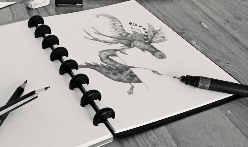 Ilustración Faber Castell