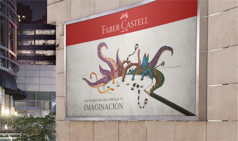 Postal Faber Castell