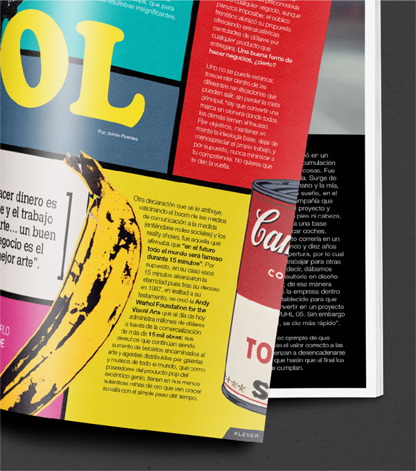 Hojas Revista Klever