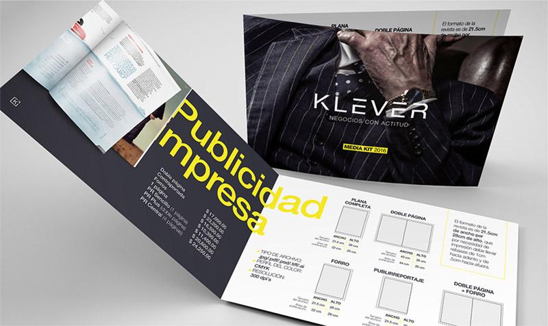 Impreso Revista Klever