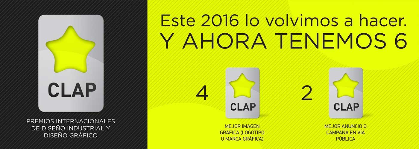 Premios Clap 2016